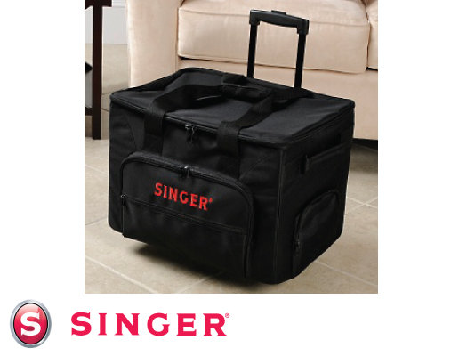 Holiday Giveaway Calendar Win A Singer Rolling Sewing Machine Tote Amazing Sewing Machine Bags On Wheels