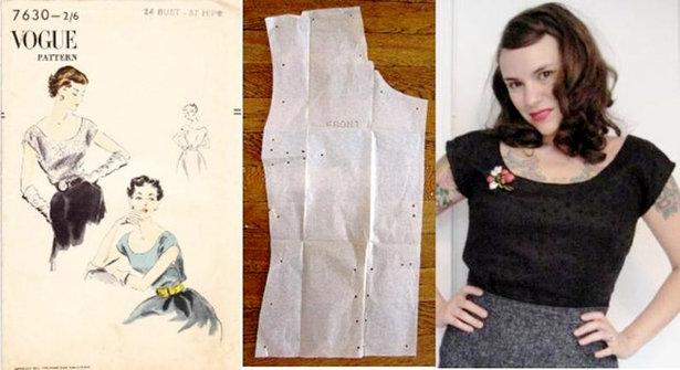 Sewing Vintage Unprinted Patterns Sewing Blog Burdastyle
