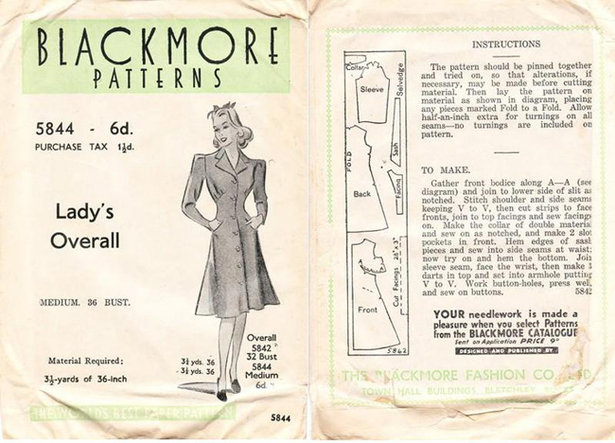 Sewing Vintage: The Evolution of Pattern Instructions – Sewing Blog ...