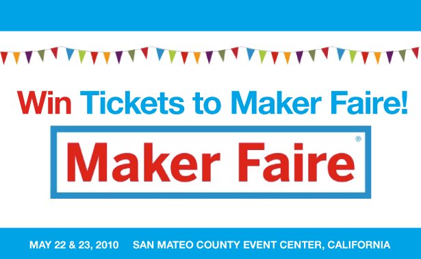 updated win another pair of tickets to maker faire sewing