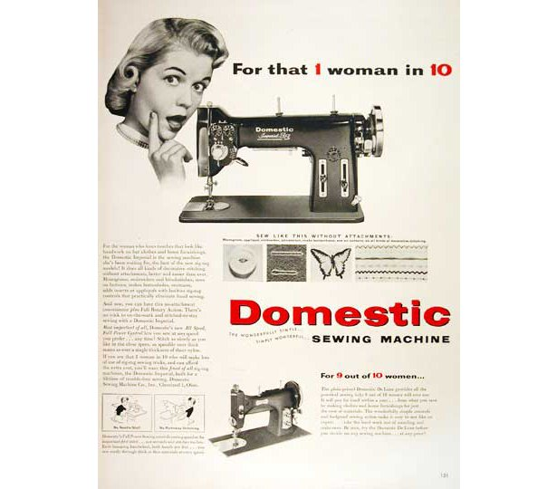 Why More Men Don't Sew And Does It Matter Sewing Blog Impressive Manly Sewing Machine