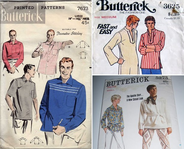 The Wacky World of Men\'s Shirt Patterns – Sewing Blog | BurdaStyle.com