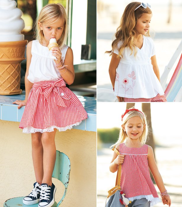 Gingham Girls: 9 New Children\'s Sewing Patterns – Sewing Blog ...