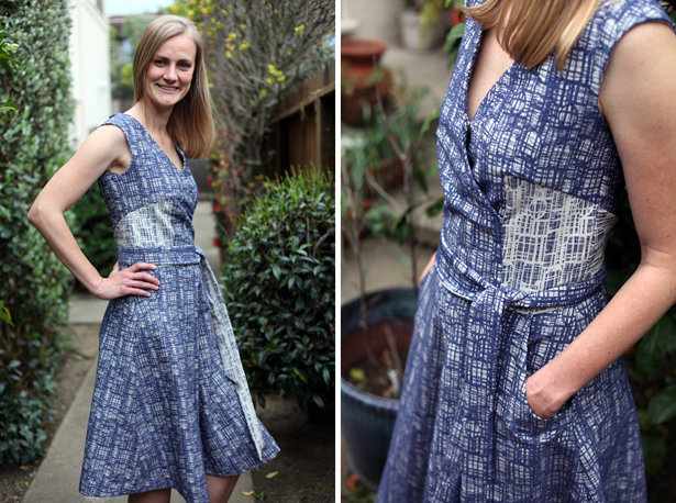 The Making of a Faux Wrap Dress – Sewing Blog | BurdaStyle.com