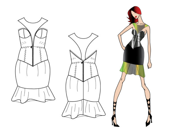 Web Seminar How To Draw Garment Technical Drawings In Adobe