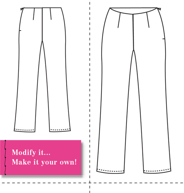 Design and Make your own Patterns: Introducing the Basic Pant Sloper ...