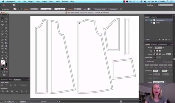 Digital Pattern Drafting with Adobe Illustrator – Sewing Blog ...