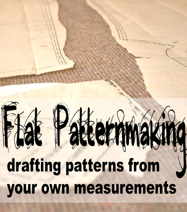 NEW Online Course! Flat Patternmaking: How to Draft Sewing Patterns ...