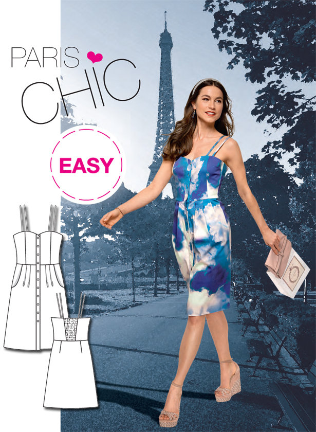 Introducing our latest Burda Easy Dress Sewing Pattern! – Sewing ...