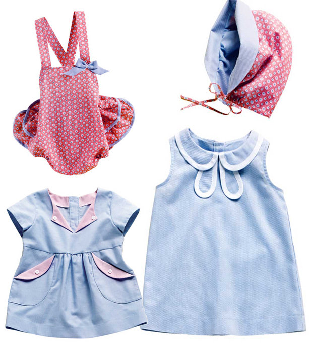 Baby Blues: 7 New Baby Sewing Patterns – Sewing Blog | BurdaStyle.com