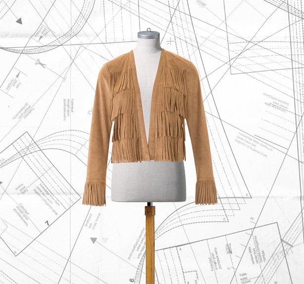 Sewing Lesson: Fringe Jacket 122 05/2016 – Sewing Blog   BurdaStyle.com