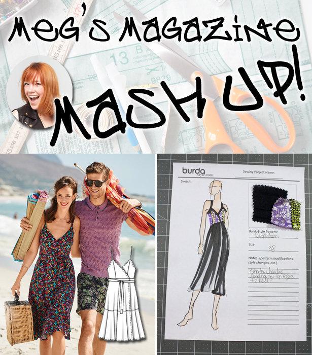 Meg\'s Magazine Mash Up: Dress Pattern Debut! – Sewing Blog ...