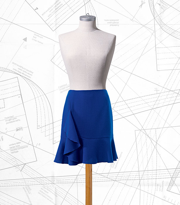 Sewing Lesson: Flounce Skirt #102 11/2016 – Sewing Blog | BurdaStyle.com