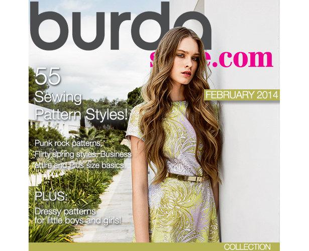 February Magazine Kit – Sewing Blog | BurdaStyle.com