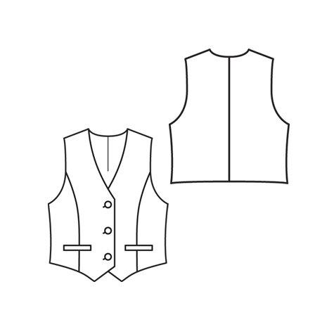 Vest 4/2010 #135 – Sewing Patterns | BurdaStyle.com