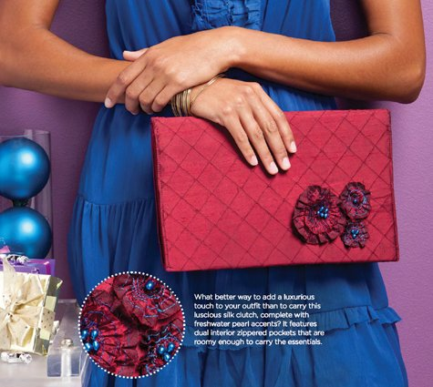 Stitch magazine Silk & Pearls Clutch Tutorial #2 – Sewing Patterns ...