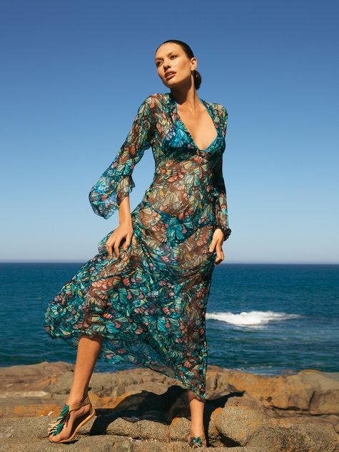 Maxi Caftan Dress 5/2011 #101C – Sewing Patterns | BurdaStyle.com