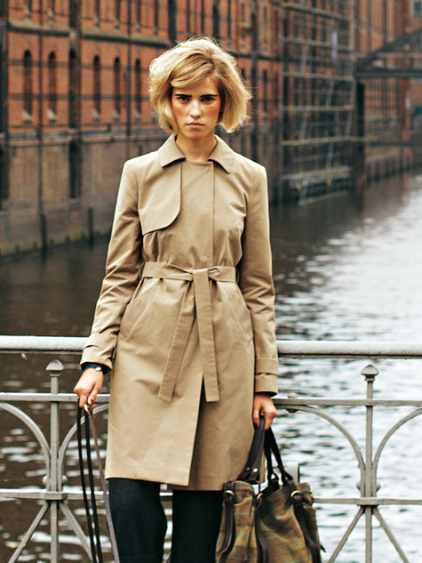 Trench Coat 122011 118 Sewing Patterns Burdastyle