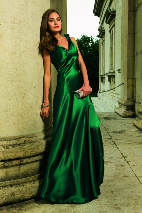 Satin Evening Gown 12/2011 #123 – Sewing Patterns | BurdaStyle.com