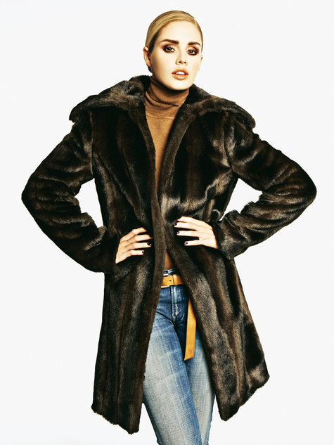 Faux Fur Coat 122011 116 Sewing Patterns Burdastyle