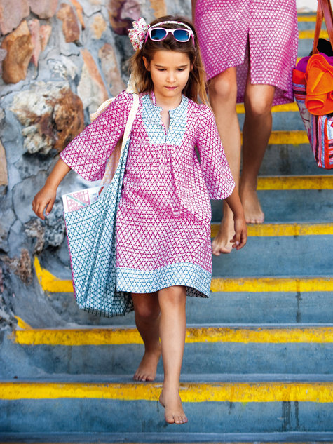 Girls Dress 06/2012 #146 – Sewing Patterns | BurdaStyle.com