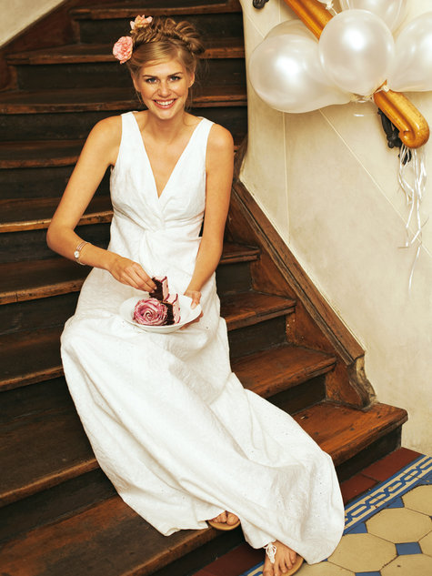 Knot Front Wedding Dress 032012 108c Sewing Patterns