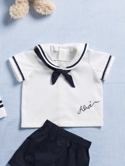 Sailor Baby Top 07/2012 #142 – Sewing Patterns | BurdaStyle.com