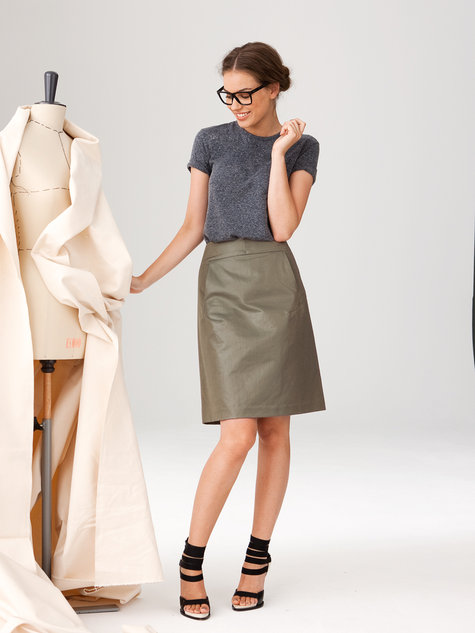 Flared Skirt 10/2012 #121A – Sewing Patterns   BurdaStyle.com