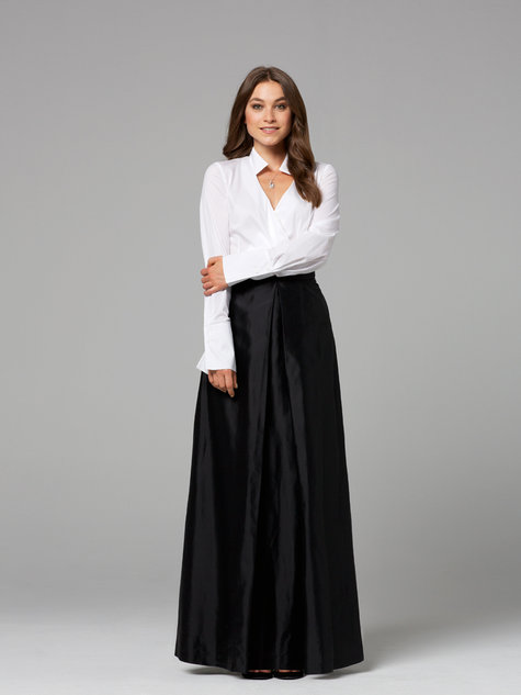 Inverted Maxi-Skirt 11/2012 #126 – Sewing Patterns | BurdaStyle.com