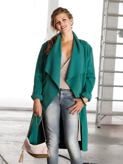 Loose Jacket (Plus Size) 01/2013 #127 – Sewing Patterns | BurdaStyle.com