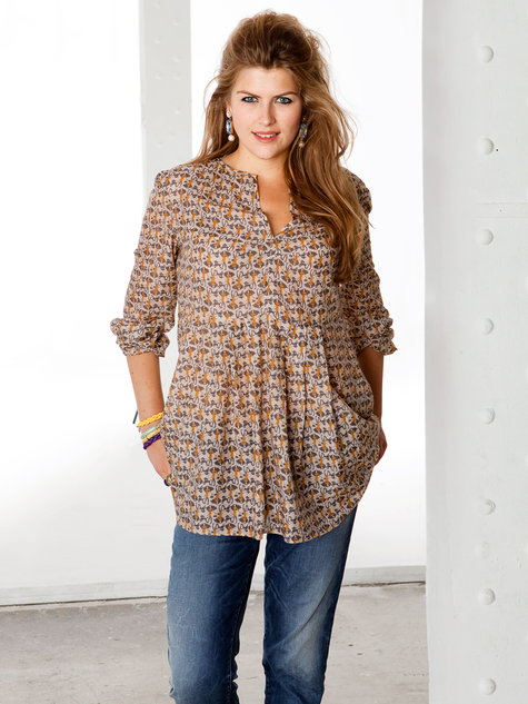 Printed Tunic (Plus Size) 01/2013 #133A – Sewing Patterns ...