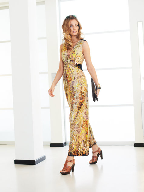 Twisted Maxi Dress 022013 115 Sewing Patterns Burdastyle