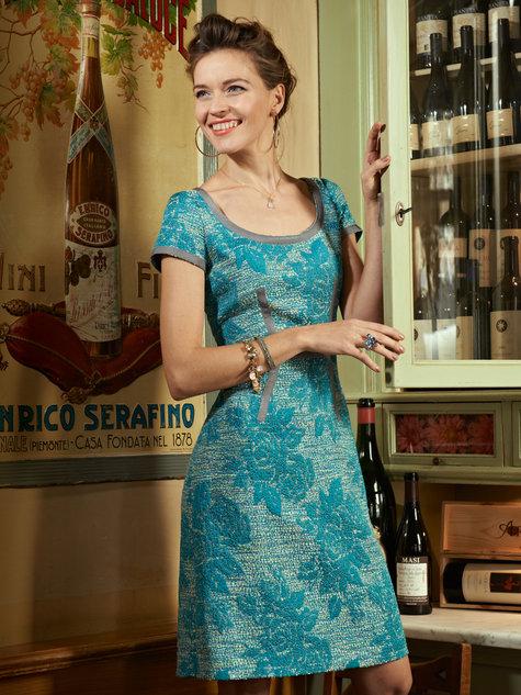 Ribbon Dress 032013 110 Sewing Patterns Burdastyle
