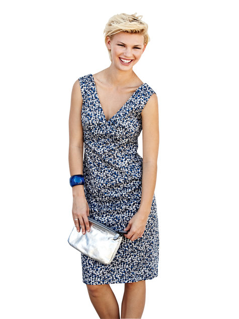 Retro Sheath Dress 05/2013 #134 – Sewing Patterns | BurdaStyle.com