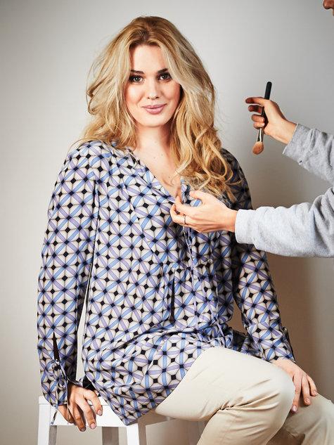 Yoked Tunic (Plus Size) 06/2013 #142 – Sewing Patterns | BurdaStyle.com