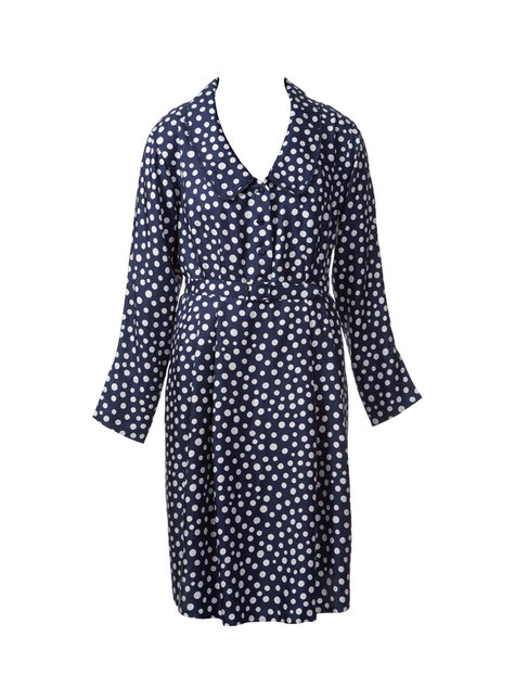 40s Style Shirtdress Plus Size 082013 138 Sewing Patterns