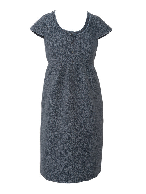 Empire Waist Dress with Pockets (Plus Size) 09/2013 #135 ...