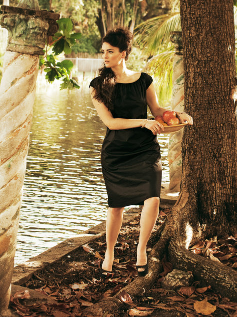 Cap Sleeve Dress (Plus Size) 05/2012 #139 – Sewing Patterns ...