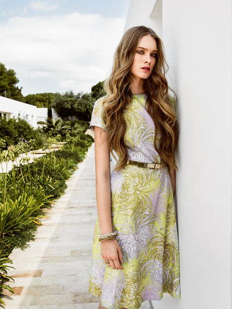 Tea Dress 022014 101 Sewing Patterns Burdastyle