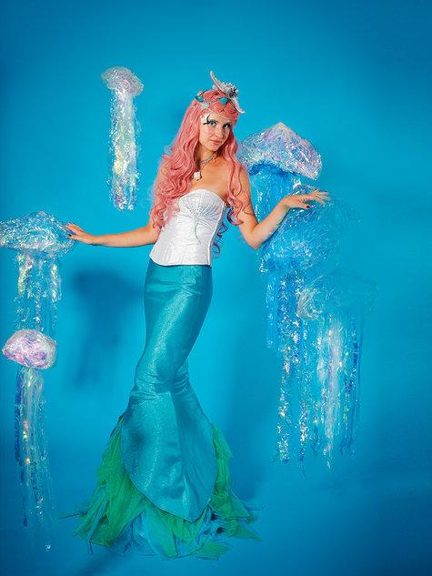 Mermaid Skirt Costume 602604 60 Sewing Patterns BurdaStyle Best Mermaid Costume Pattern