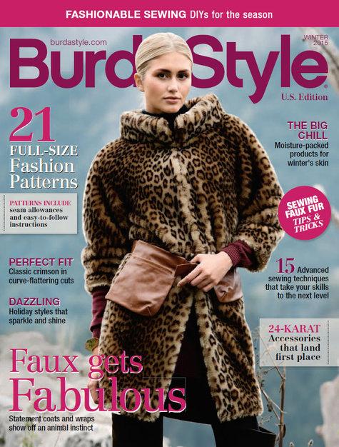 BurdaStyle Magazine 2015 Winter Digital Issue #2015W – Sewing ...