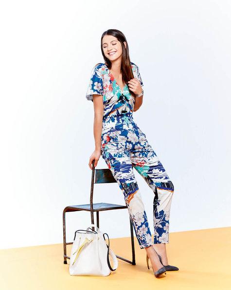 Short Sleeve Jumpsuit 03/2015 #115B – Sewing Patterns | BurdaStyle.com