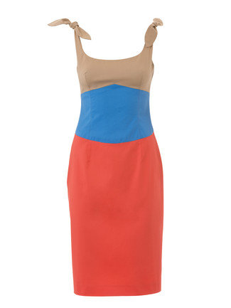 2015 Color Block Dresses