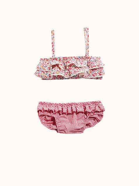 Girl\'s Ruffle Bikini 07/2015 #135 – Sewing Patterns | BurdaStyle.com