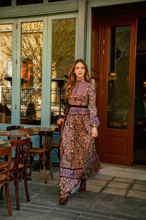 High Neck Maxi Dress 09/2015 #101 – Sewing Patterns | BurdaStyle.com