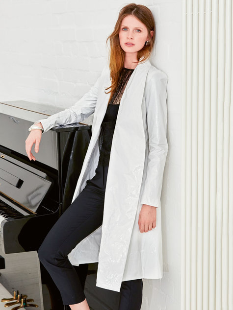 Shawl Collar Jacket 112015 102d Sewing Patterns Burdastyle