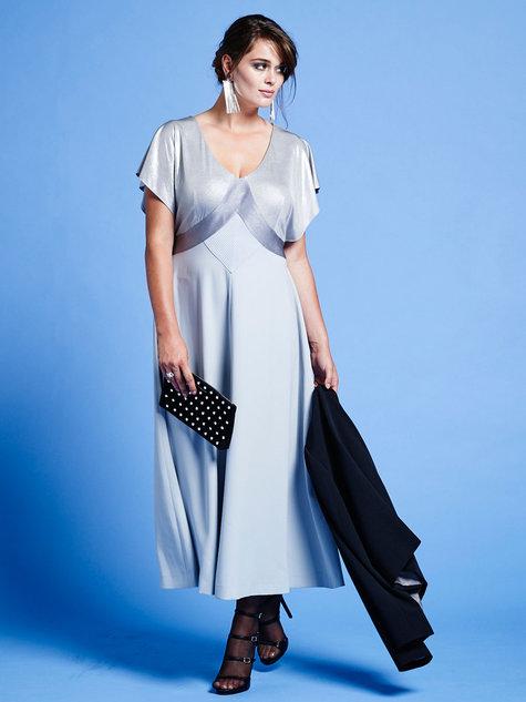 Batwing Midi Dress (Plus Size) 01/2016 #136B – Sewing ...