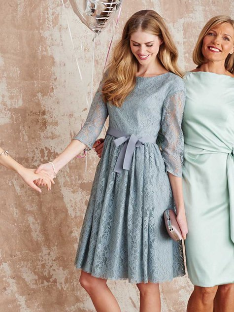 A-Line Lace Dress 03/2016 #124 – Sewing Patterns | BurdaStyle.com