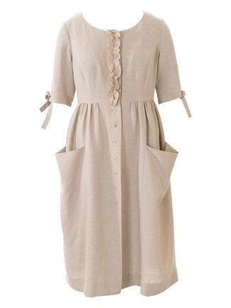 b7f4934b95f Pocket Shirt Dress (Plus Size) 05 2016  127. Downloads. 50. 127-052016-b large.  127-052016-b thumb  127-052016-b-burda-style-naehen-diy-schnittmuster- ...