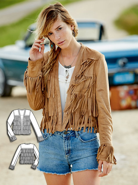 Free Style 11 New Western Boho Womens Sewing Patterns Sewing